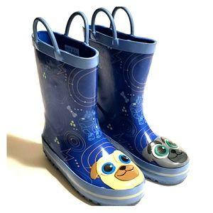 Disney  Store Boy Shoes Puppy  Dog Pals Boots 10